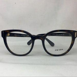 29dd3a45209 ... sunglasses b43b5 0c033  discount prada accessories prada eyeglass frames  in havana brown 26cc7 e7577